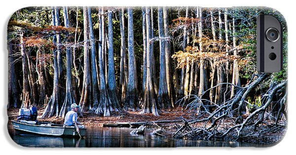Bayou iPhone Cases - The Fisherman iPhone Case by Lana Trussell