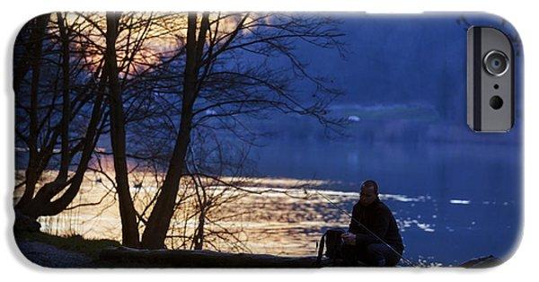 Thinking iPhone Cases - The fishermans desolation iPhone Case by Alfio Finocchiaro