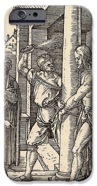 The Flagellation iPhone Case by Albrecht Durer