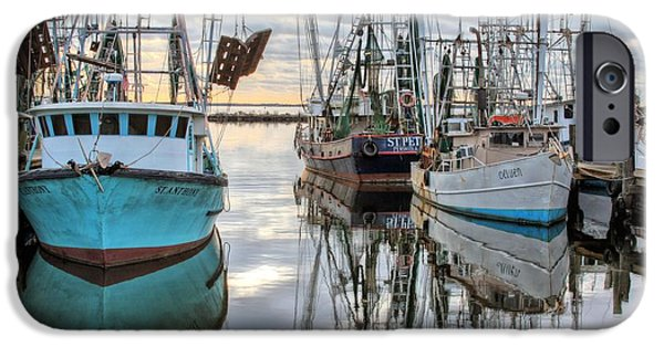 Florida Panhandle iPhone Cases - The Fleet iPhone Case by JC Findley