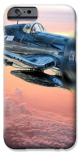 The Flight Home iPhone Case by JC Findley
