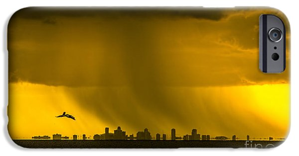 Gulf Of Mexico iPhone Cases - The Floating City  iPhone Case by Marvin Spates