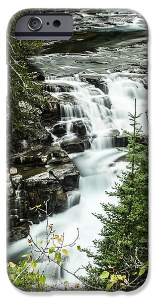 Fall iPhone Cases - The Flow iPhone Case by Aaron Aldrich