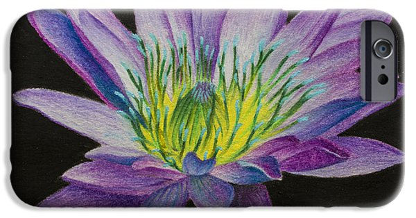Buddhism Pastels iPhone Cases - The Flowering of Human Consciousness iPhone Case by Maxwell Hanson