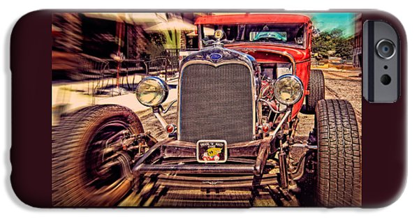 Automotive iPhone Cases - The Ford Hot Rod iPhone Case by Thom Zehrfeld