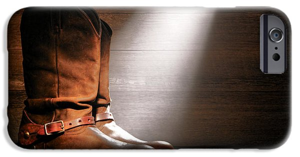 Boots iPhone Cases - The Found Boots iPhone Case by Olivier Le Queinec