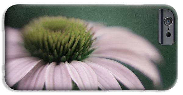 Abstracted Coneflowers iPhone Cases - The Fountain  iPhone Case by Irina Wardas