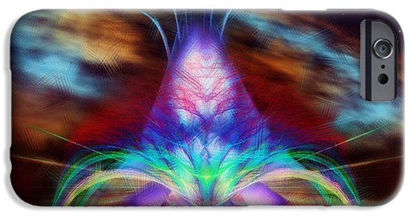 Painter Photo Mixed Media iPhone Cases - The Fountain of Life iPhone Case by Mario Carini