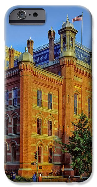 The Franklin School - Washington DC iPhone Case by Mountain Dreams