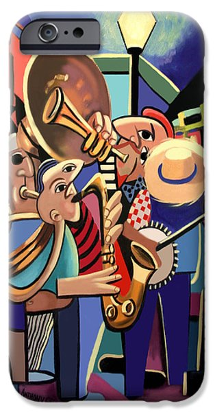 French Quarter iPhone Cases - The French Quarter iPhone Case by Anthony Falbo