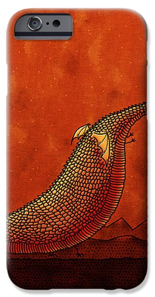 The Friendly Dragon iPhone Case by Gianfranco Weiss