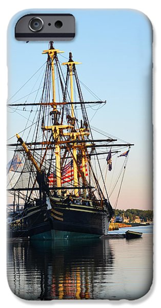 Oxford. Oxford Ma. Massachusetts iPhone Cases - The Friendship of Salem iPhone Case by Toby McGuire