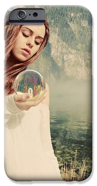 Narrative iPhone Cases - The future foretold iPhone Case by Linda Lees