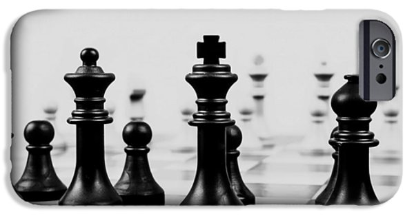 Chess Queen iPhone Cases - The Game of Kings iPhone Case by Mountain Dreams