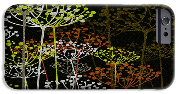 The Garden Of Your Mind 2 iPhone Case by Angelina Vick