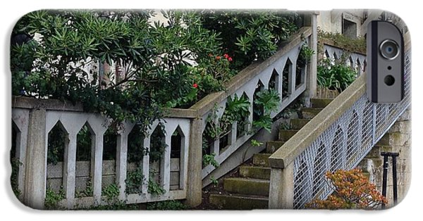 Alcatraz iPhone Cases - The Gardens at the Rock iPhone Case by Christy Gendalia