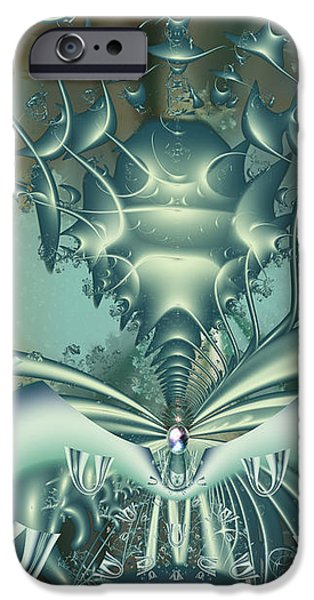 The Gateway Machine iPhone Case by Mary Almond