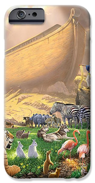 The Gathering iPhone Case by Chris Heitt