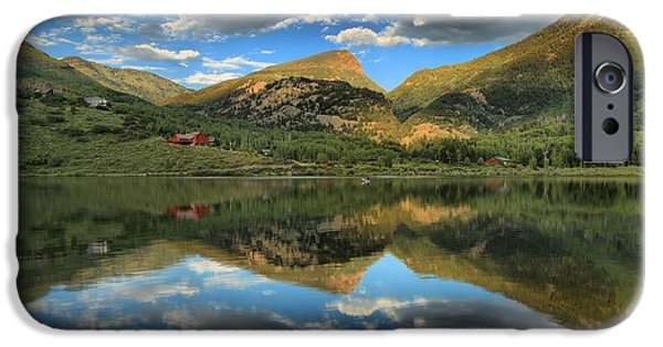 Beaver Lake iPhone Cases - The Gem Of Marble iPhone Case by Adam Jewell