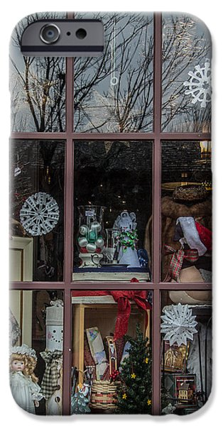 Toy Store iPhone Cases - The General Store iPhone Case by Aileen Mozug
