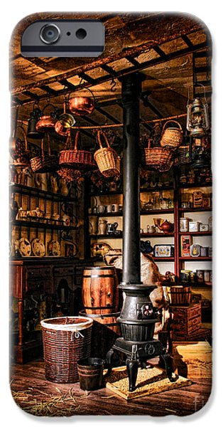 Basement iPhone Cases - The General Store in my Basement iPhone Case by Olivier Le Queinec