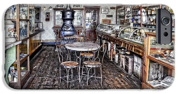 1890Õs iPhone Cases - The General Store iPhone Case by Ken Smith