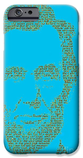 Politician iPhone Cases - The Gettysburg Address 150th Anniversary  iPhone Case by Gary Keesler