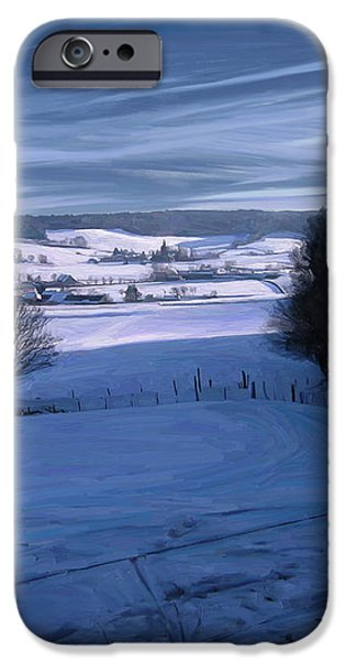 The Geul Valley near Epen iPhone Case by Nop Briex