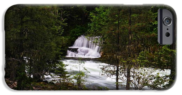 State Parks In Oregon iPhone Cases - The Gift Of A Hidden Wterfall iPhone Case by Jeff  Swan
