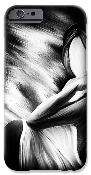 The Girl In My Room iPhone Case by Bob Orsillo