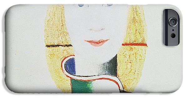 Posters Of Women iPhone Cases - The Girl with the Hat iPhone Case by Kazimir Severinovich Malevich
