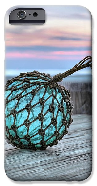The Glass Fishing Float iPhone Case by JC Findley