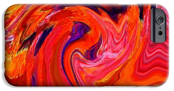 Abstract Digital Mixed Media iPhone Cases - The Glory Of A Sunrise  iPhone Case by Rjf at beautifullart  RJ   Friedenthal