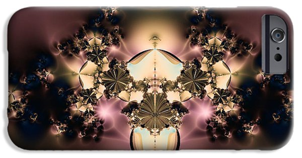 Night Lamp iPhone Cases - The Glow Within iPhone Case by Rhonda Barrett