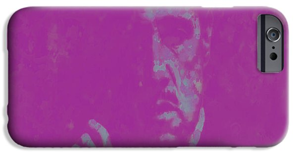 Francis Ford Coppola iPhone Cases - The Godfather Marlon Brando iPhone Case by Brian Reaves