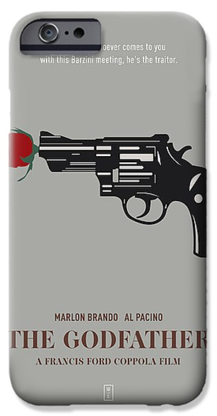 Francis Ford Coppola iPhone Cases - The Godfather iPhone Case by Smile In The  Mind
