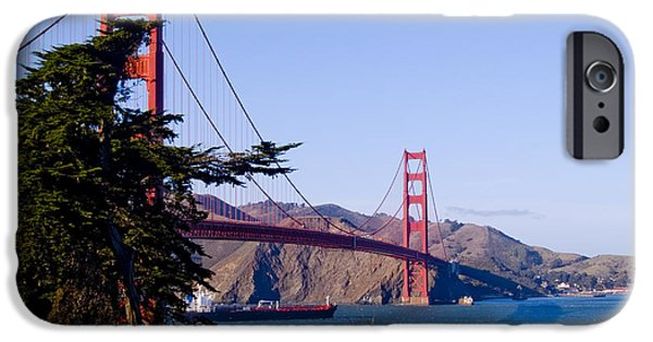 Bill Gallagher iPhone Cases - The Golden Gate iPhone Case by Bill Gallagher