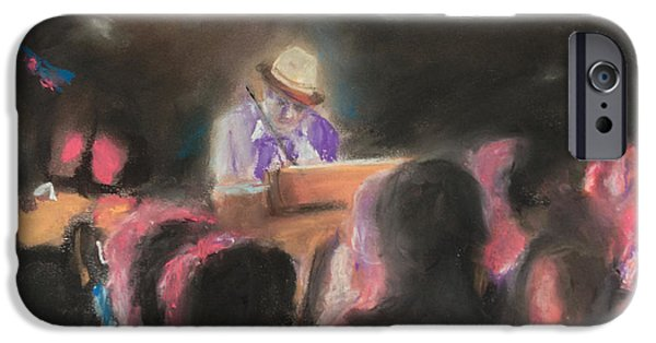 Music Pastels iPhone Cases - The Good Doctor iPhone Case by Andrew Mason