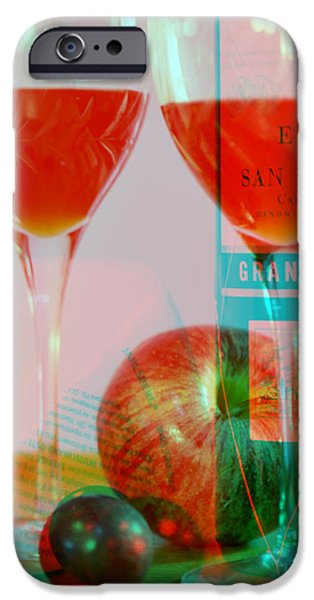 Table Wine iPhone Cases - The Good Wine iPhone Case by John Redfern