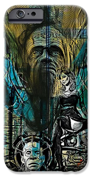 Alice In Wonderland iPhone Cases - The Great and Powerful iPhone Case by Russell Pierce