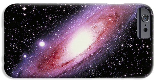 Constellations iPhone Cases - The Great Andromeda Galaxy iPhone Case by John Chumack
