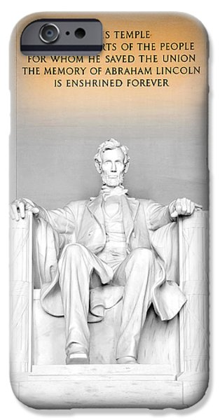 Smithsonian iPhone Cases - The Great Emancipator iPhone Case by Greg Fortier