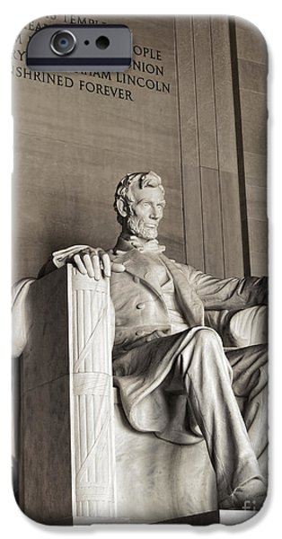 D.c. iPhone Cases - The Great Emancipator iPhone Case by Olivier Le Queinec