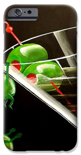Fantasy Realistic Still Life iPhone Cases - The Great Escape iPhone Case by Darren Robinson
