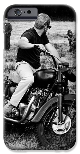 Steve Mcqueen iPhone Cases - The Great Escape iPhone Case by Mark Rogan