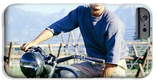 Steve Mcqueen iPhone Cases - The Great Escape iPhone Case by Nomad Art And  Design