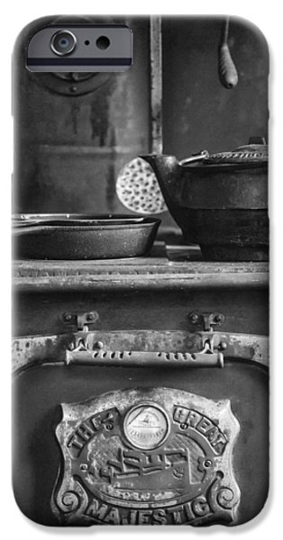 The White House Photographs iPhone Cases - The Great Majestic Stove iPhone Case by Keith Dotson