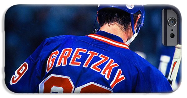 Wayne Gretzky iPhone Cases - The Great One iPhone Case by Jerry Coli