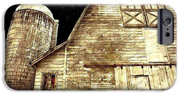 Old Barn Photo Photographs iPhone Cases - The Great Pumpkin iPhone Case by Diana Angstadt