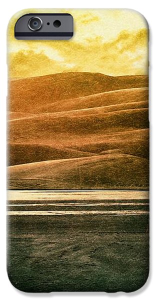 The Great Sand Dunes iPhone Case by Brett Pfister